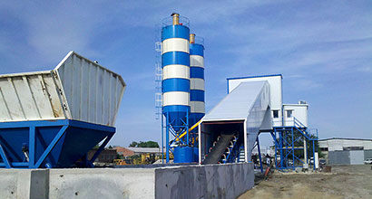 Batching Plant with Heating System
