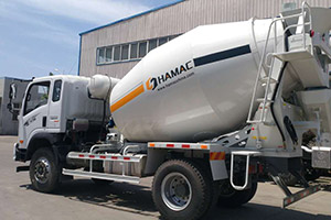 Concrete Mixing Transport Truck