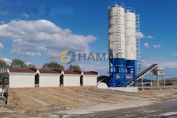 WEC600 Stabilized soil mixing plant in New Zealand