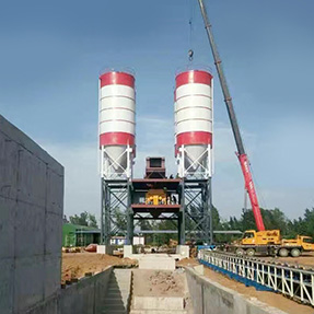 80 Tons Cement Silo
