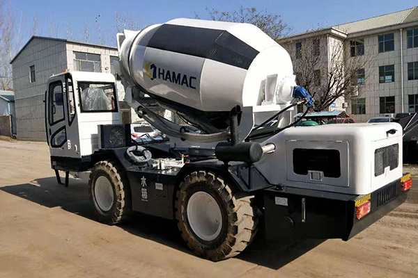 HMC400 Self-loading Concrete Mixer in Kiribati