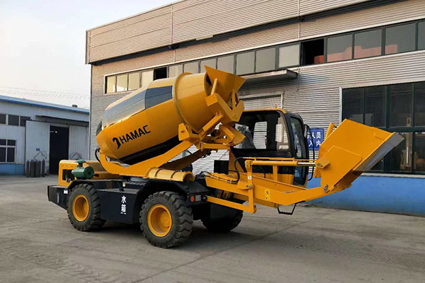 HMC400 self loading mixer in New Zealand
